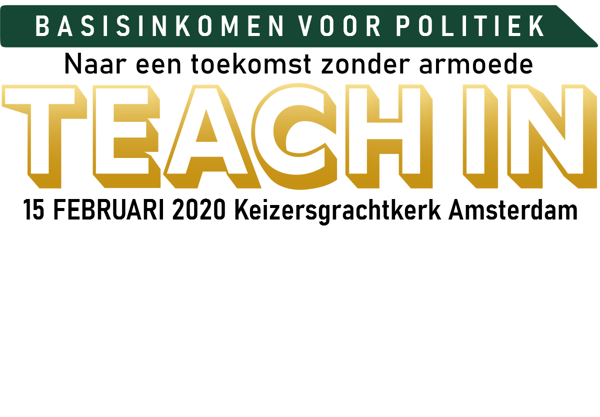 Teach-in Basisinkomen voor politiek